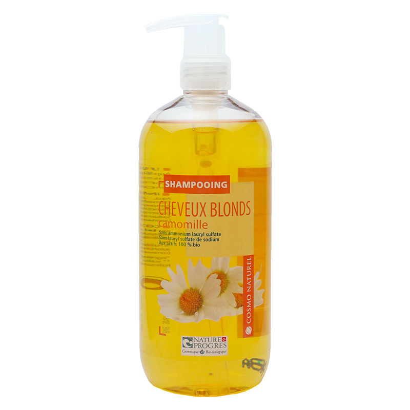 shampoing cheveux blonds cosmo naturel