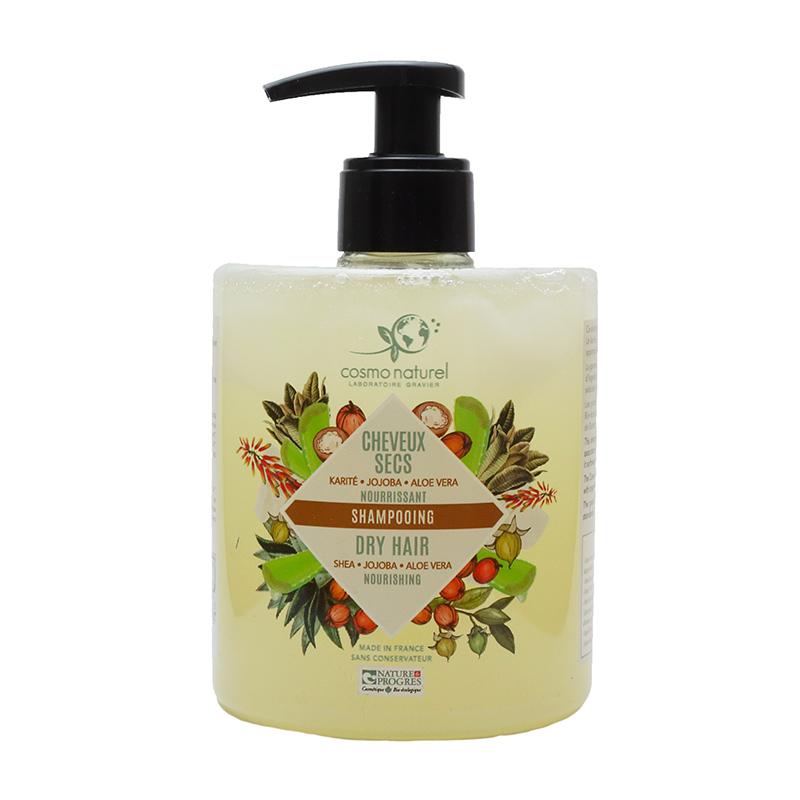 shampoing cheveux secs cosmo naturel